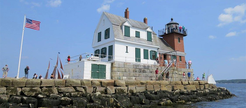 Rockland Breakwater Lighthouse - visit today!